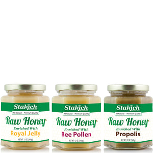 Hive Powered Raw Honey Gift Set