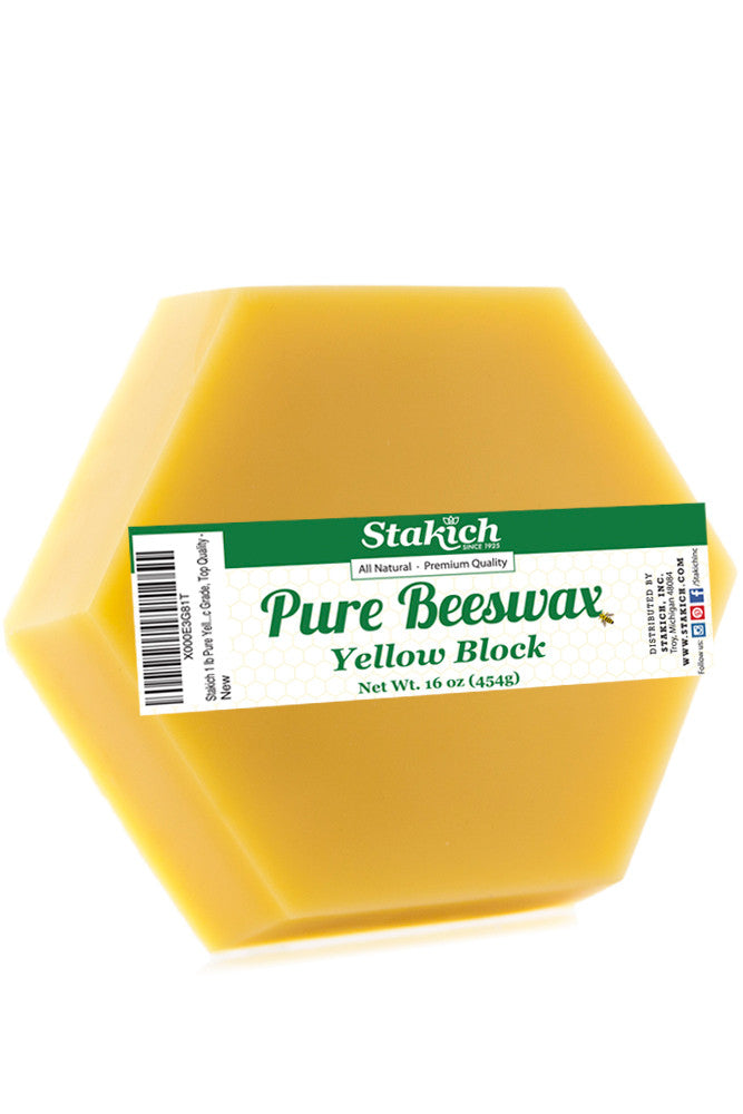 Yellow Beeswax (Cosmetic) Blocks (40 lb)
