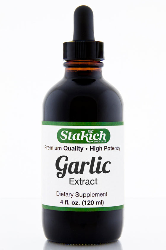 4 oz Garlic Herbal Extract