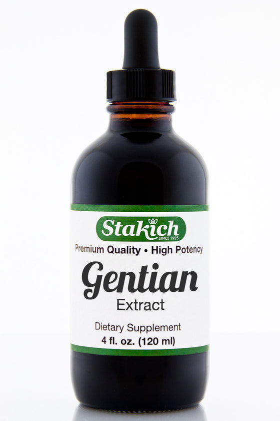 4 oz Gentian Herbal Extract
