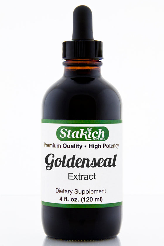 4 oz Goldenseal Herbal Extract