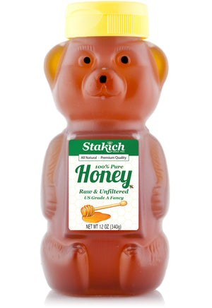 Case of Honey Bear (12 oz) - Stakich