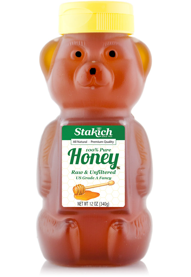 Liquid Raw Honey Bear
