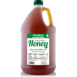 12 lb (1 gallon) Liquid Raw Honey