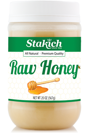 Case of Raw Honey (20 oz) - Stakich