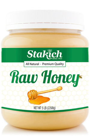 Case of Raw Honey (5 lb) - Stakich