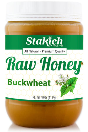 Buckwheat Raw Honey - Stakich