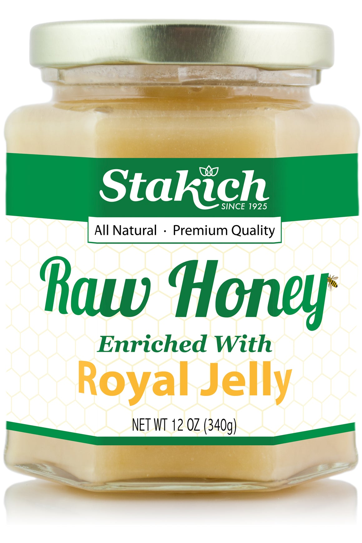 Royal Jelly Enriched Raw Honey