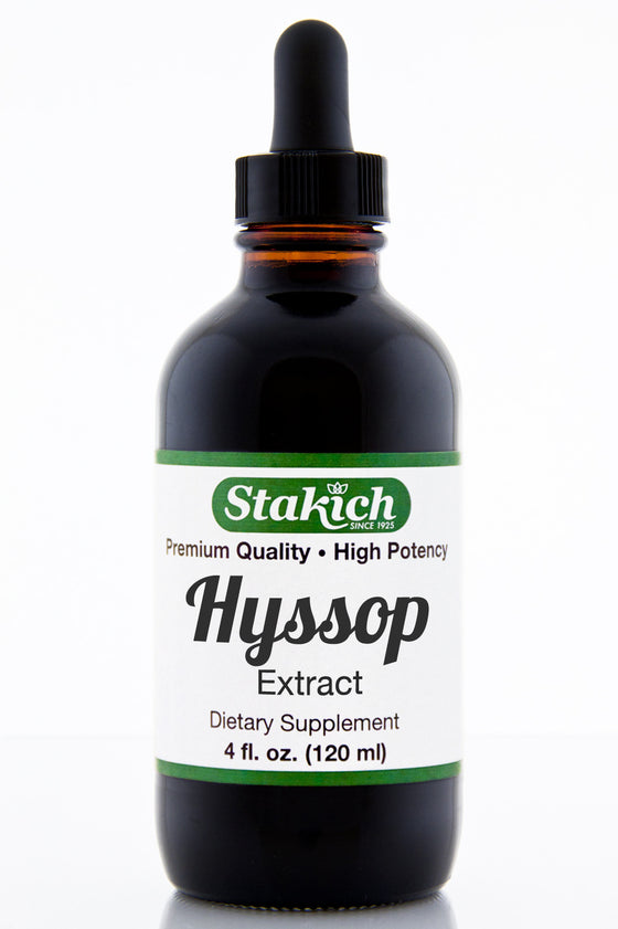 4 oz Hyssop Herbal Extract