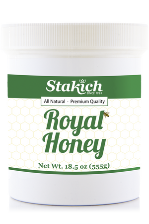 Royal Honey Raw Honey. Bee Pollen, Royal Jelly, Propolis