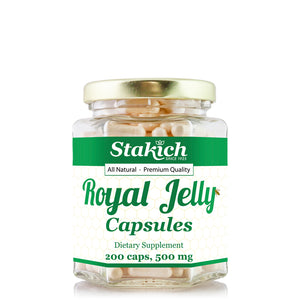 Royal Jelly Capsules - 500mg