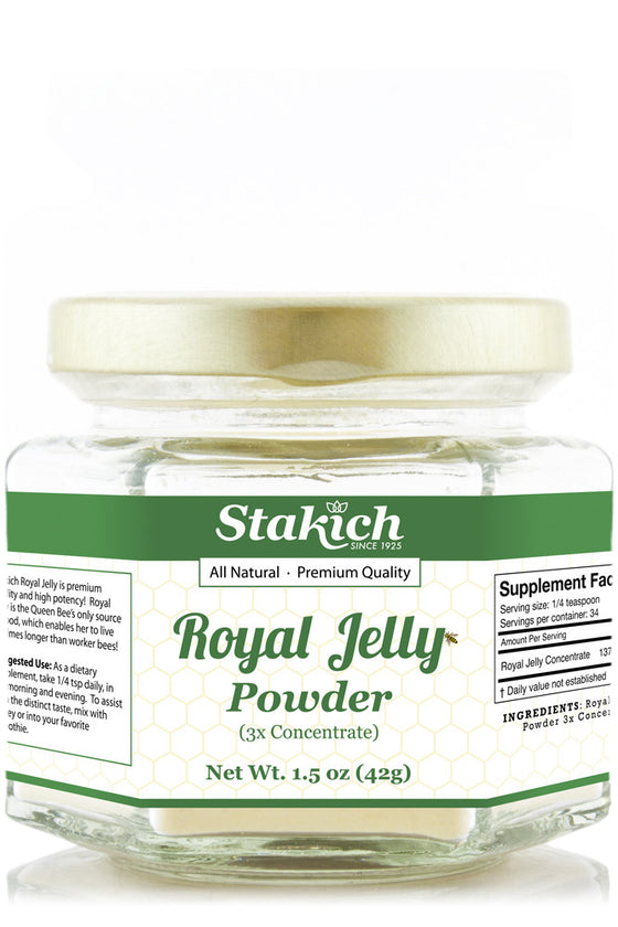 Case of Royal Jelly Powder (1.5 oz)