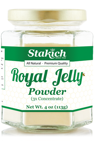 Case of Royal Jelly Powder (4 oz) - Stakich