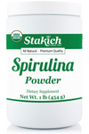 Case of Organic Spirulina Powder (1 lb)
