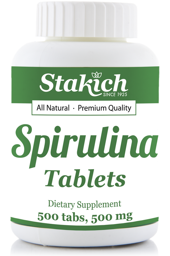 Spirulina Tablets - 500 mg