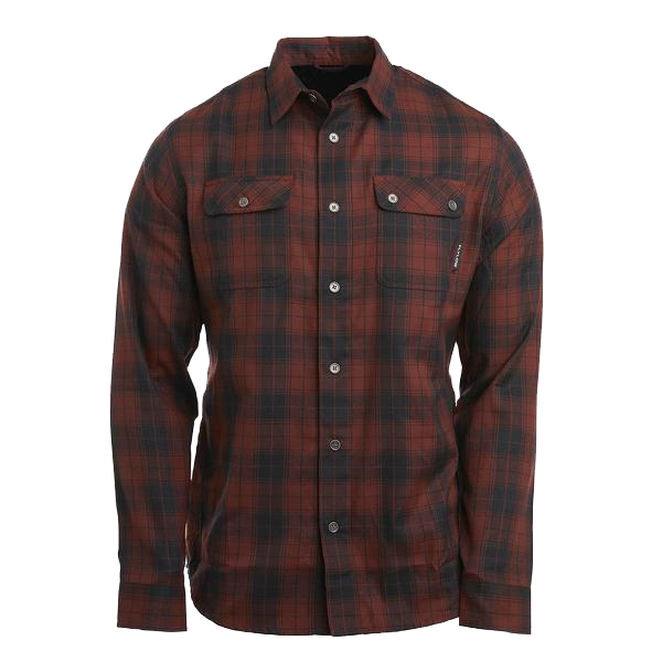 Flylow Chappy Flannel - Black/Madeira