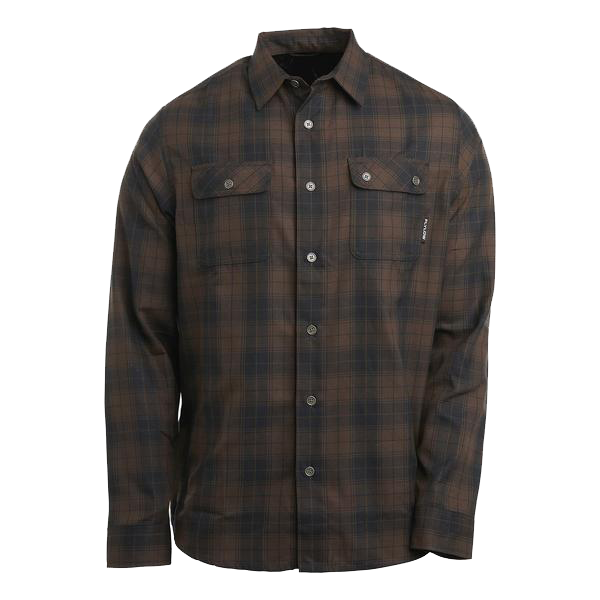 Flylow Chappy Flannel - Fernet/Black