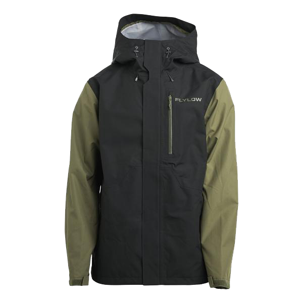Flylow Knight Jacket - Black/Seaweed