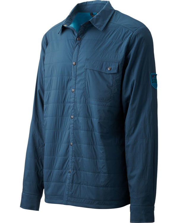 Strafe Alpha Shirt Jacket - Blue Steel