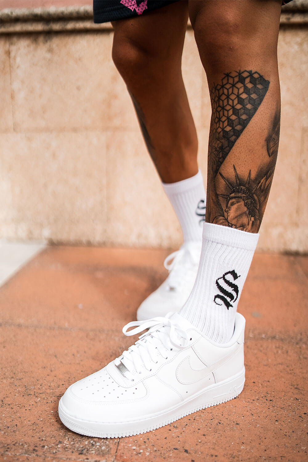 Icon Socks - White