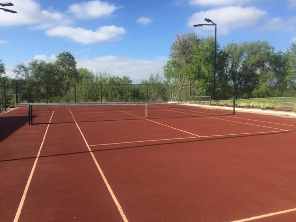 tennis caliclay court system