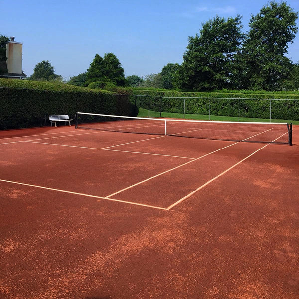 tennis court after caliclay