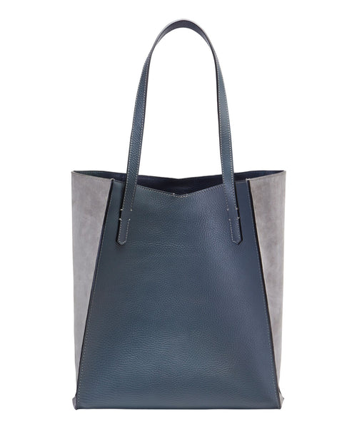 TALL TOTE-GREY/PALE GREY