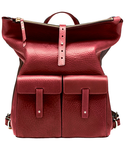 MEDIUM BACKPACK-BERRY