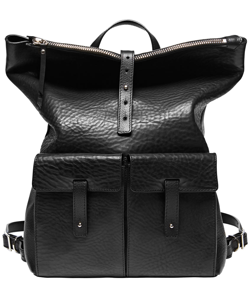 MEDIUM BACKPACK-BLACK