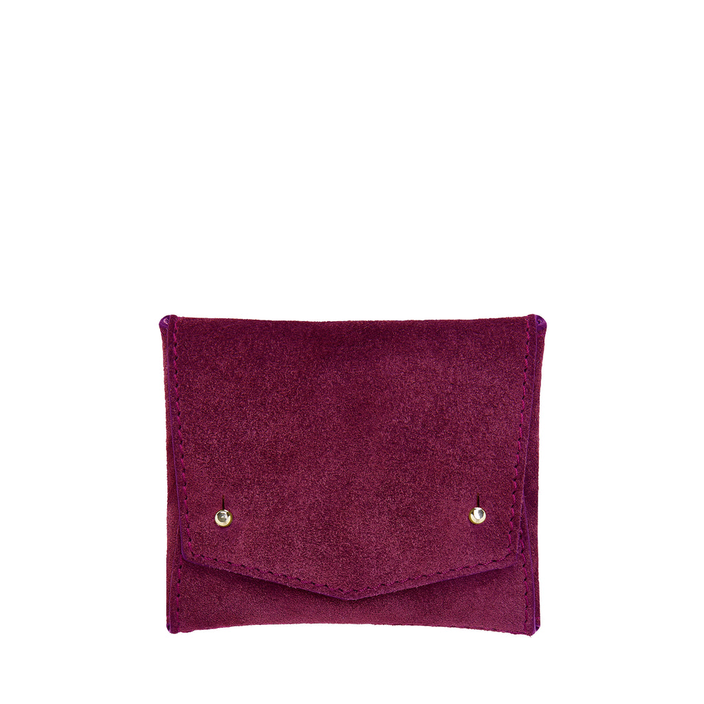 SQUARE WALLET: PURPLE