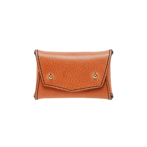 ONE PIECE WALLET: BURNT ORANGE