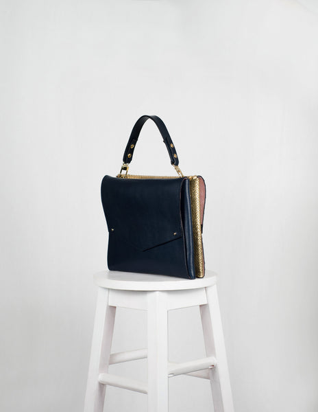 Python|Navy Handle Back to Back
