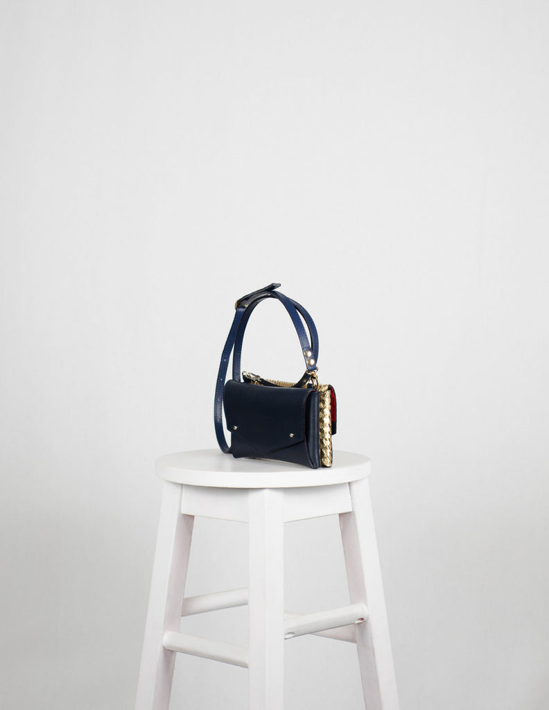 Python|Navy Mini Back to Back