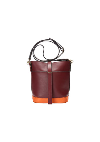 Magnetic Strap Bucket Bag