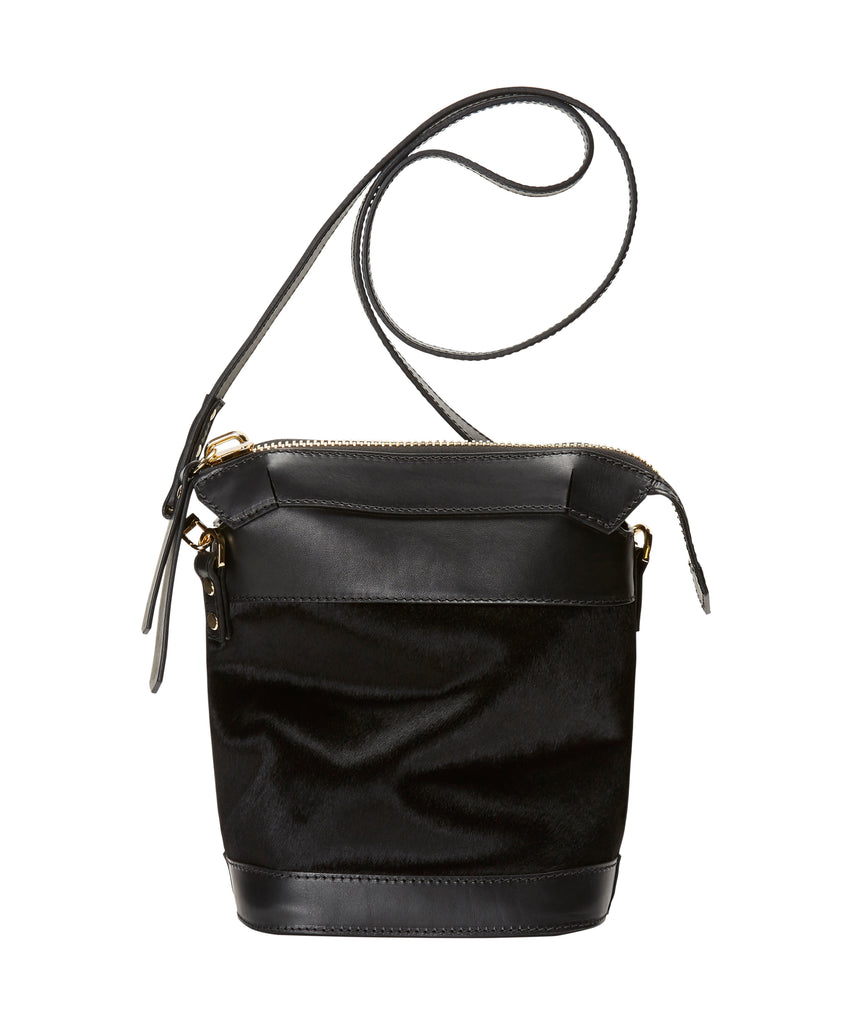 Zip Top Bucket Bag