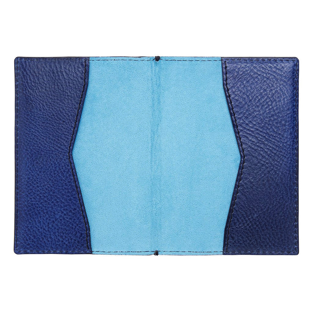 PASSPORT COVER: ROYAL BLUE