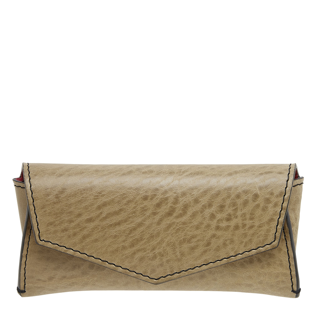 SUNGLASSES CASE: LIGHT OLIVE