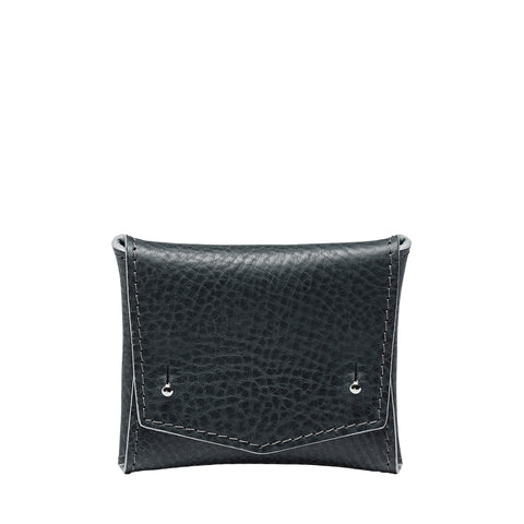 SQUARE WALLET: BLACK