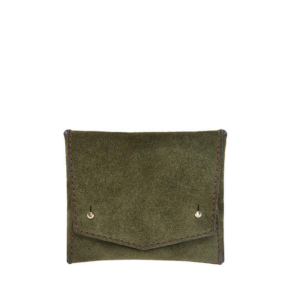 SQUARE WALLET: GREEN MOSS