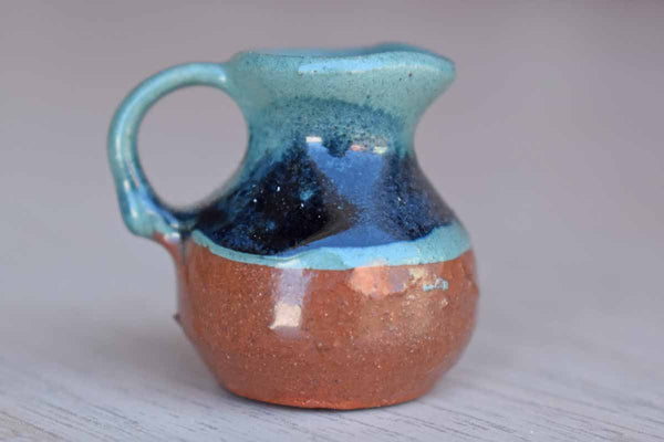 Miniature Ceramic Jug, Made in Bermuda