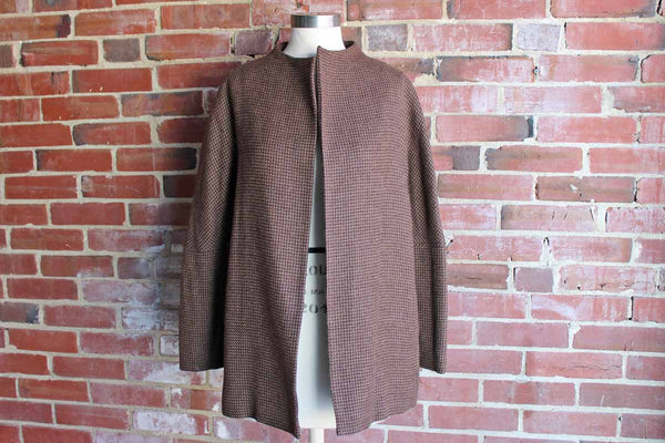 Sigrid Olsen Swingy Wool Coat, Woman's Size Medium