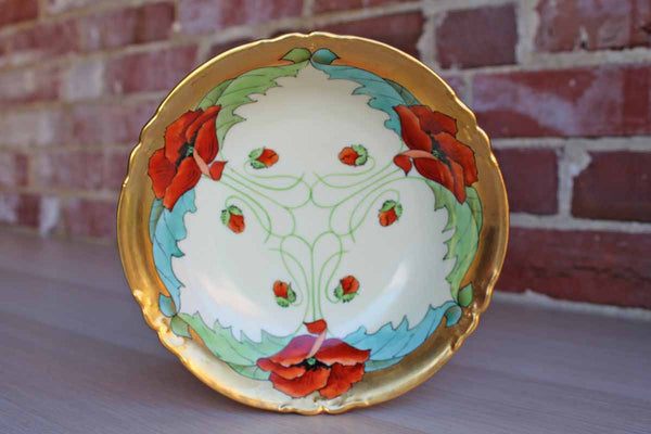 AKD (France) Hand Painted Porcelain Bowl