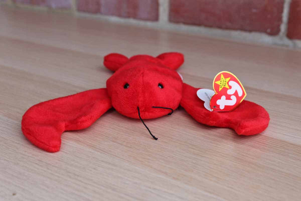 Ty Inc. (Illinois, USA) 1993 Pinchers the Red Lobster Beanie Baby