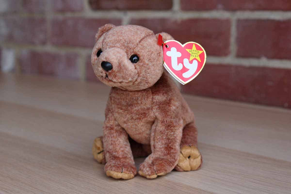 Ty Inc. (Illinois, USA) 1999 Pecan the Brown Bear Beanie Baby