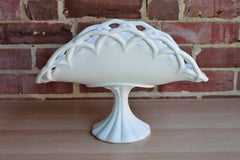 Colony Glass (New York, USA) Milk Glass Banana Stand