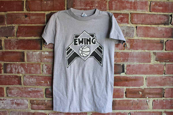 Patrick Ewing Adidas Children's Cotton T-Shirt, Size Medium