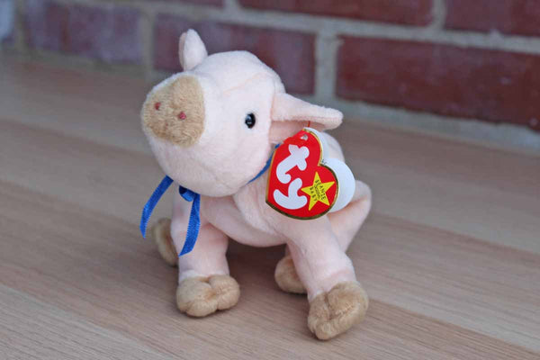 Ty Inc. (Illinois, USA) 1999 Knuckles the Pink Pig Beanie Baby