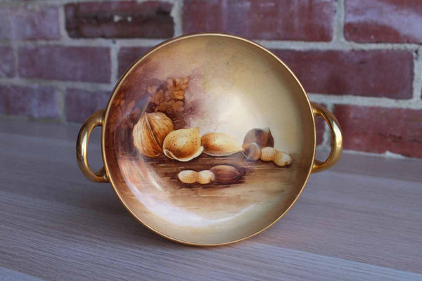 Pickard China (Illinois, USA) Hand Painted Nut Harvest Bowl