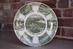 Kettlesprings Kilns (Ohio, USA) Souvenir Plate from Promised Land, Pennsylvania