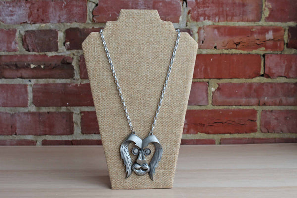 Aluminum Lion Necklace